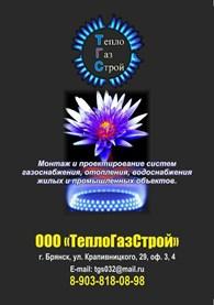 ООО ТеплоГазСтрой