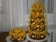 Изготовление свадебных тортов и караваев