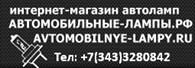 """""""АВТОМОБИЛЬНЫЕ ЛАМПЫ"""""""