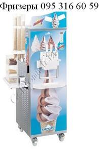 Фризеры для производства и продажи мягкого мороженого