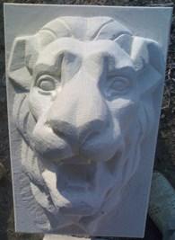 Белый камень известняк