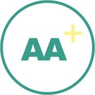 """AA+"""