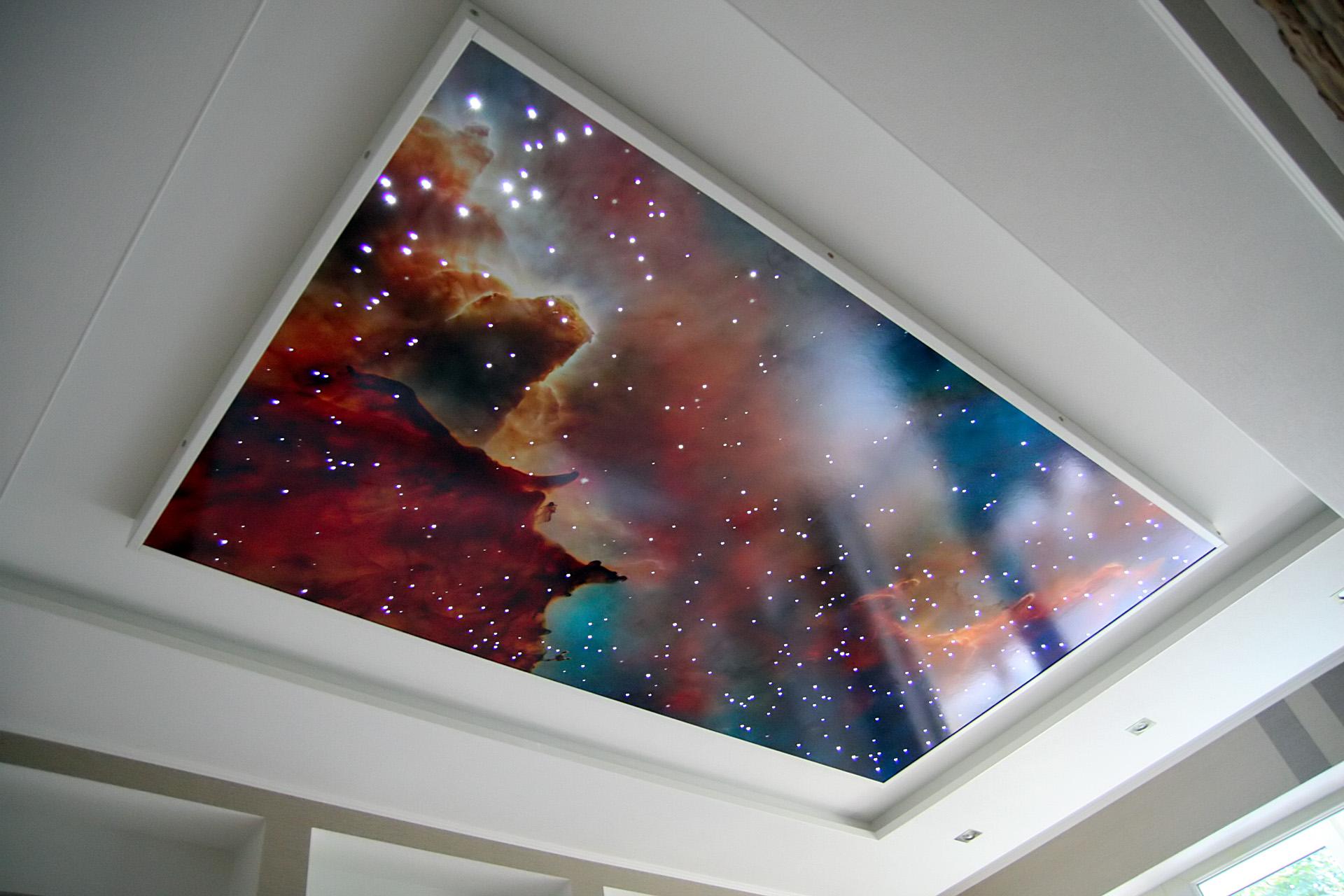 Как сделать на потолке эффекты 164