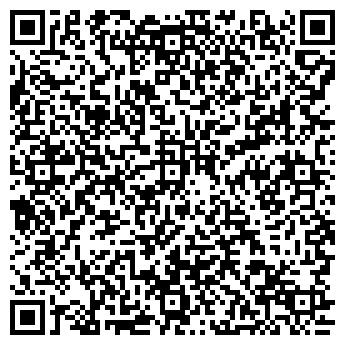 QR-код с контактной информацией организации КАЗАН КЛАБ