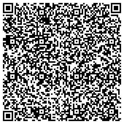 QR-код с контактной информацией организации Управление ПФР в Прикубанском внутригородском округе города Краснодара