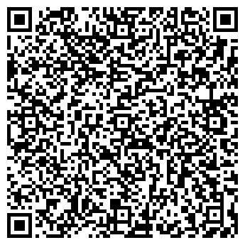 QR-код с контактной информацией организации Метро, продуктовый магазин