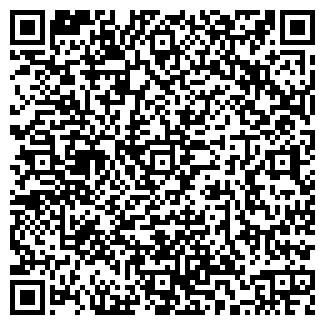 QR-код с контактной информацией организации Роза, продуктовый магазин