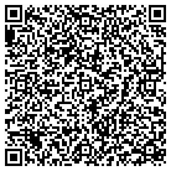 QR-код с контактной информацией организации БАННЫЙ РАЙ