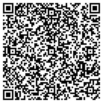 QR-код с контактной информацией организации Окна & Двери