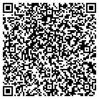 QR-код с контактной информацией организации АФИНА, ШКОЛА