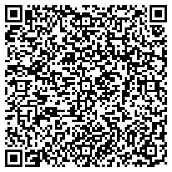 QR-код с контактной информацией организации КЛУБ МАРТИНИ, ВАК, ООО