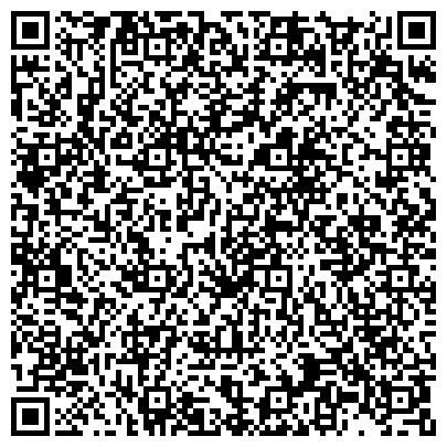 QR-код с контактной информацией организации Вятская гуманитарная гимназия с углубленным изучением английского языка, А корпус