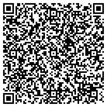 QR-код с контактной информацией организации КЬЮБ ФИНАНС