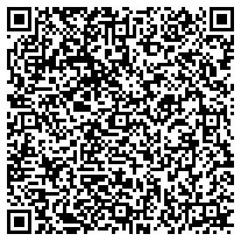 QR-код с контактной информацией организации ПАНИК ДИЗАЙН, ООО