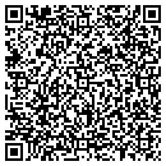 QR-код с контактной информацией организации РУБИН, ПО ДО