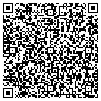 QR-код с контактной информацией организации Планета 13