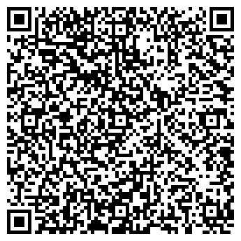 QR-код с контактной информацией организации РЕНЕССАНС, ШКОЛА