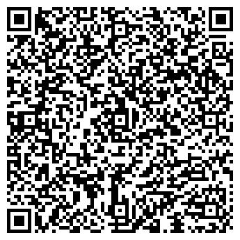 QR-код с контактной информацией организации ЧЁРНАЯ КОШКА