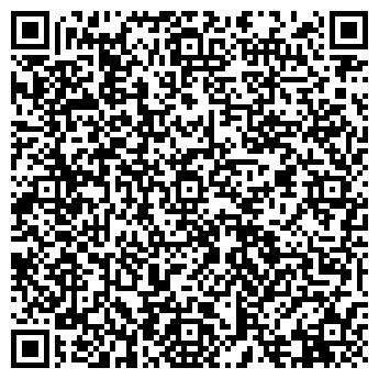 QR-код с контактной информацией организации МАНХЕТТЕН