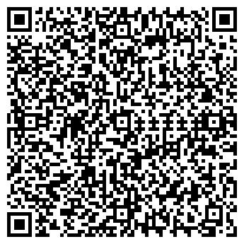 QR-код с контактной информацией организации Тарелка