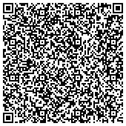 QR-код с контактной информацией организации Отдел по социальной защите населения, вопросам молодёжной, семейной политики, труда и занятости