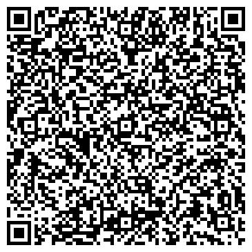 QR-код с контактной информацией организации Магазин мясной продукции, ИП Анфиногенова Л.Н.