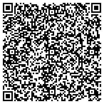 QR-код с контактной информацией организации Шоу метателя ножей