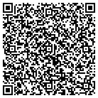 QR-код с контактной информацией организации Студия декора «Яхорс»