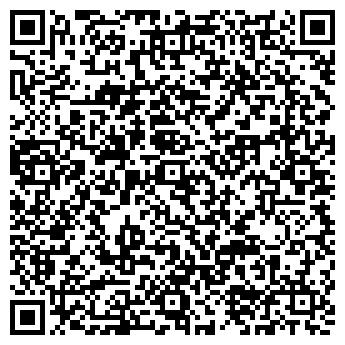 QR-код с контактной информацией организации Позитив такси