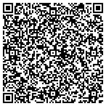QR-код с контактной информацией организации ООО Центр современной косметологии «Успех»