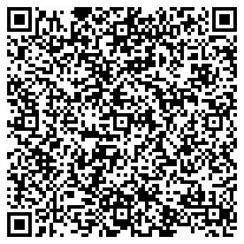QR-код с контактной информацией организации Субъект предпринимательской деятельности ФЛП Тесаловскя