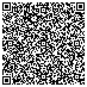 QR-код с контактной информацией организации Студия цветов ABRACADABRA