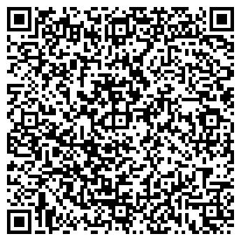 QR-код с контактной информацией организации шоу балет Индиго