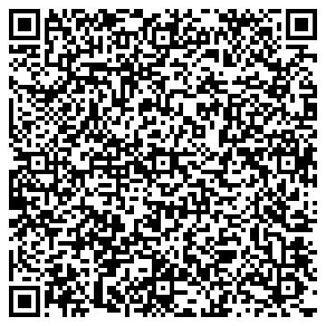 QR-код с контактной информацией организации Студия флористического декора ВЕСТА