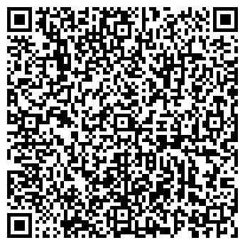 QR-код с контактной информацией организации Простор, ЧУП