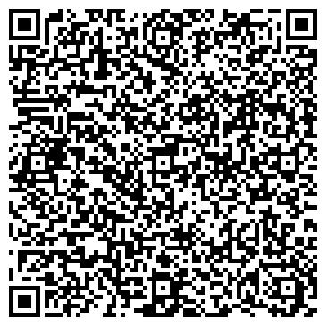 QR-код с контактной информацией организации Натяжные потолки Индиго, ЧП
