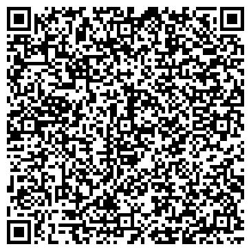 QR-код с контактной информацией организации Теннисный клуб Сampa, компания