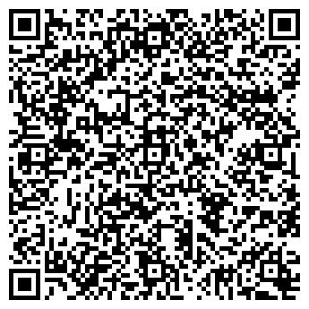 QR-код с контактной информацией организации Владимирские бани, ИП