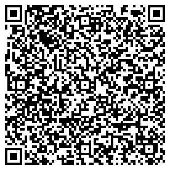 QR-код с контактной информацией организации Теннисный клуб, ИП