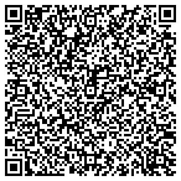 QR-код с контактной информацией организации Мерс (магазин автотоваров), ИП