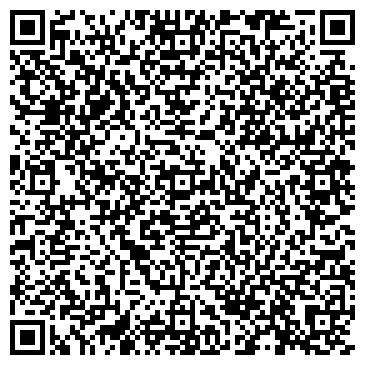 QR-код с контактной информацией организации ПозитиF, фитнес-студия