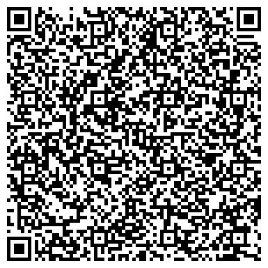 QR-код с контактной информацией организации Студия парикмахерского искусства