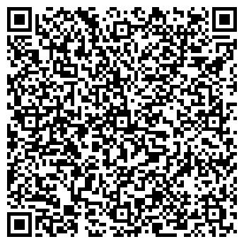 QR-код с контактной информацией организации Fisheye арт-студия