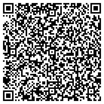 QR-код с контактной информацией организации Дизайн-студия Радость, ИП
