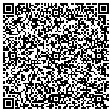 QR-код с контактной информацией организации Дизайн-салон прелесть, ИП