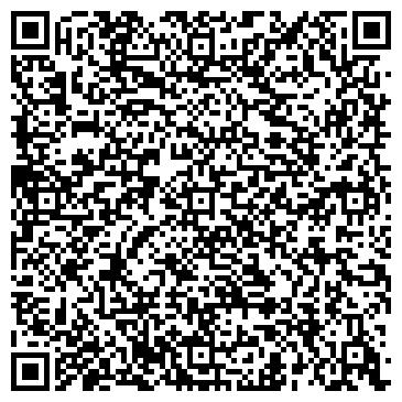 QR-код с контактной информацией организации ателье Радуга, ЧП