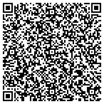 QR-код с контактной информацией организации Частное предприятие дизайн-студия «Intera»