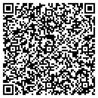 QR-код с контактной информацией организации Радуга, ИП