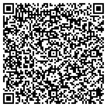 QR-код с контактной информацией организации Аура, компания
