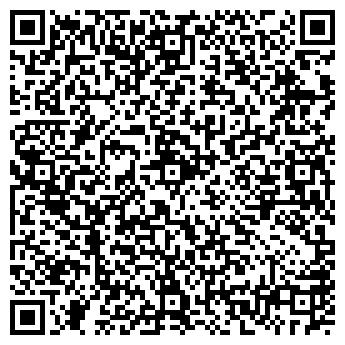 QR-код с контактной информацией организации Де факто, ООО